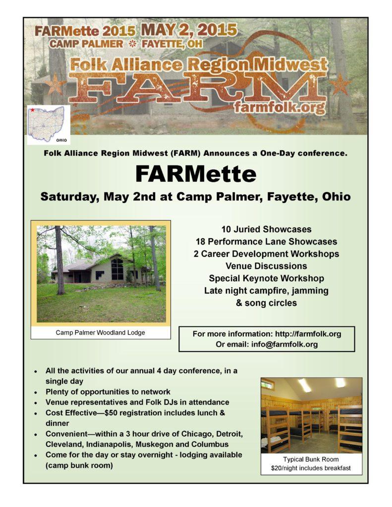FARMette 2015 flyer