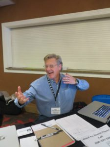 Our Registrar, Kerry Patrick Clark!